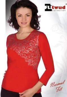 32096 Блузка женская белый
