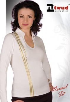 35038 Блузка женская коричневый