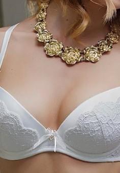 1357 Бюстгальтер Dimanche белый bianco