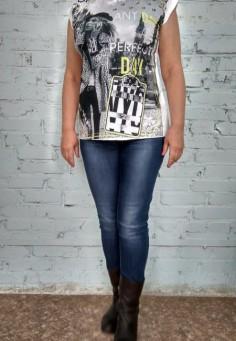 5305 Туника-футболка 44-58