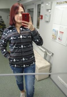 5507 Пуловер 48-58 мультицвет