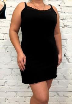 5406 Сорочка черный 46-50