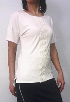 5569 Блуза 48-60 белый