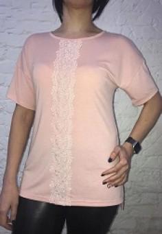 5569 Блуза 48-60 персик