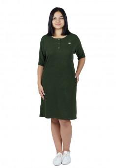 2530 Платье 46-54 зеленый